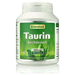 Taurin Pulver Taurin Kapsel