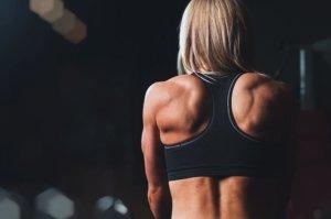 Schneller Muskelaufbau Frau